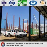 Stahlrahmen-Halle-Extension für Porcessing Werkstatt