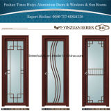 Portes intérieures en aluminium de tissu pour rideaux de portes de salle de bains