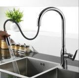衛生製品のクロム版は台所蛇口を引き出す