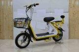 motocicleta elétrica do motor 350W traseiro sem escova