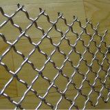 Treillis métallique serti d'écran d'acier inoxydable