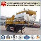2 de Aanhangwagen van de Vrachtwagen van de Distributie van het Asfalt van assen