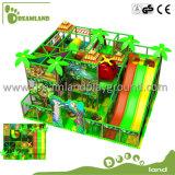 Зона игры крытого оборудования спортивной площадки детей центра игры крытого мягкого крытая