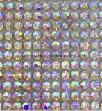 Выполненные на заказ кристаллический стикеры диаманта Rhinestone этикеты Swaro кристаллический стикер (TS-537)