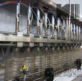 Type linéaire ligne de mise en bouteilles de machine de remplissage de pétrole