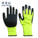 7gアクリルの泡乳液は熱グリップの冬作業手袋に塗った