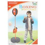 Игрушка спорта регулируемого бокса пробивая шарика установленного с перчатками для детей