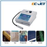 Impresora de inyección de tinta de la máquina de la codificación de la Vencimiento-Fecha para el rectángulo de la crema de cara (EC-JET500)