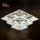 Cristal montado diodo emissor de luz quadrado da luz de teto de Dimmable para a HOME