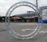 Ферменная конструкция напольной системы ферменной конструкции выставки алюминиевая круглая для вися света