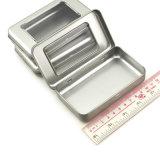 Eingehängter Metallzinn-Kasten mit Fenster-kleinem tadellosem Zinn