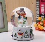 De Ambachten van de Bol van de Sneeuw van de douane, de Gebeeldhouwde Bal van het Water van de Hars - de Gift van de Vakantie Nieuwjaar van de Verjaardag van de Dag van de Valentijnskaart van Kerstmis