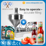 Pneumatischer Typ Pasten-Öl-Honig-Füllmaschine mit Mischer-Heizung