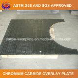 コンクリートミキサー車のための摩耗の版を耐摩耗加工するクロムの炭化物