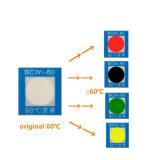 温度モニタリングのステッカーか感熱カラー変更の温度のラベル