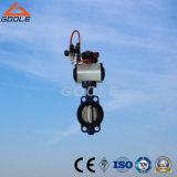 Válvula borboleta de borracha motorizada / elétrica de 150 lb (GAD971X)