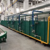 Onthard Oven voor de Lijn van het Product van de Vervaardiging van de Cilinder van LPG