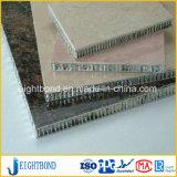 Панель сота самого лучшего камня мрамора цены алюминиевая