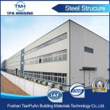 Edificio del almacén de la estructura de acero del palmo grande en precio de fábrica