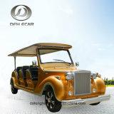 6 Sitz-Soem-Fabrik-Hersteller-klassisches besichtigenkarren-elektrisches Golf-Auto