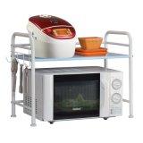Prateleira da cozinha da cremalheira do metal do carrinho do forno de micrôonda do organizador da cozinha da alta qualidade