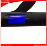 Escala portable recargable del equipaje de Digitaces de la batería de la potencia con 2200mAh