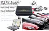 Sistema Android do perseguidor do veículo do Ios APP do perseguidor 103b do GPS do carro de Radio Shack
