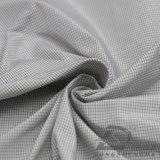 agua de 50d 350t y de la ropa de deportes tela tejida chaqueta al aire libre Viento-Resistente 100% de la pongis del poliester del telar jacquar de la tela cruzada abajo (53257F)