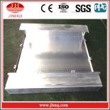 Bekledingspaneel van de Muur van het Aluminium van de Grootte van Bouwmaterialen het Standaard