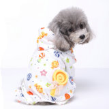 Camisa suave del animal doméstico de la camisa de los pijamas del perro del caramelo de la venta de la fábrica