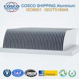 Perfil de aluminio para el disipador de calor termal de la Raspar-Aleta