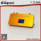 Nuevo Modelo 500m2 cobertura CDMA 850MHz amplificador de señal puede utilizar para el teléfono