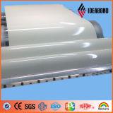 Bobine en aluminium de vente d'enduit chaud de PE pour la décoration intérieure de plafond