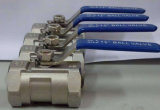 Bw, Thread, Sw 1PC One Piece Ball Valve