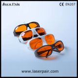 大会のセリウムEn207の低価格の緑のレーザーの安全ガラスレーザーの防護眼鏡/315-540nm Dirm Lb5