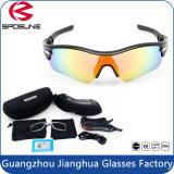 Outdoor Men UV400 Sport Sun Lunares Óculos de sol polarizados com logotipo personalizado