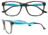 I telai dell'ottica di vendita di modo dell'acetato di Eyewear dell'acetato del blocco per grafici Handmade caldo del monocolo comerciano