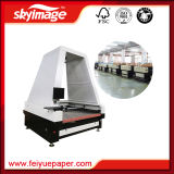 1800X1600mmの自動挿入の衣服か布または革またはファブリックまたは織物レーザーの打抜き機