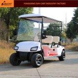 4 Passagier-elektrische Golf-Karren-besichtigengolf-Karre