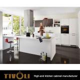 台所既製の方法デザイン上のQuanlityのキャビネットTivo-0100hのためのキャビネットを使って