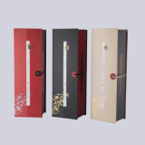 Boîte-cadeau de papier de luxe et belle d'emballage de thé