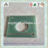 Da folha laminada material da folha G10/Fr-4 da tela da fibra de vidro cor Água-Verde/preta