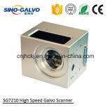 Galvanómetro de alta velocidad de la exploración del laser Sg7210 del chino Galvo con el Ce aprobado