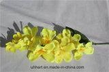 Commercio all'ingrosso del fiore di atterraggio del fiore artificiale dell'orchidea di lepidottero di alta qualità 2017