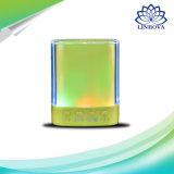 Haut-parleur actif stéréo sans fil de Bluetooth de mini cube sec avec l'éclairage LED