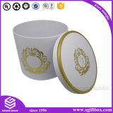 Cmyk Custom Cylinder Packaging Flower Round Box