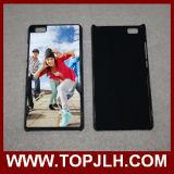 Espacio en blanco de la sublimación de la impresión de PC+TPU para la caja del teléfono de Huawei P8 Lite