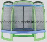 Trampolín de salto barato alto modificado para requisitos particulares interesante de la alta calidad de la talla con la red de seguridad