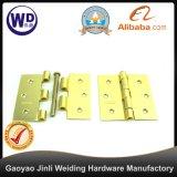 Charnière de guindineau de couleur de l'or Dh-3X3 pour la porte