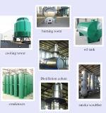 セリウム、SGS、ISOが付いている重油の蒸留機械